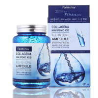 FARMSTAY Collagen & Hyaluronic Acid All In One Ampoule
