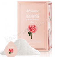 JMSOLUTION Glow Luminious Flower Firming Powder Cleanser Rose