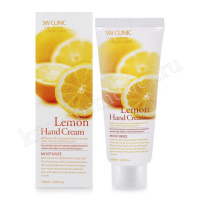 3W CLINIC Lemon Hand Cream
