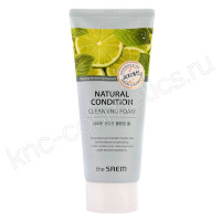 THE SAEM Natural Condition Cleansing Foam Sebum Controlling
