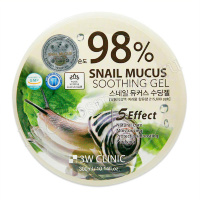 3W CLINIC Snail Mucus Soothing Gel 98%